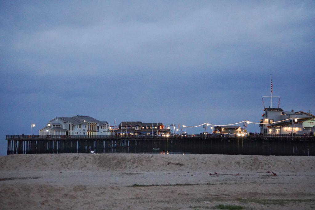Stearns Wharf Santa Barbara at Dawn