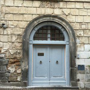 Gfray door in Orvieto