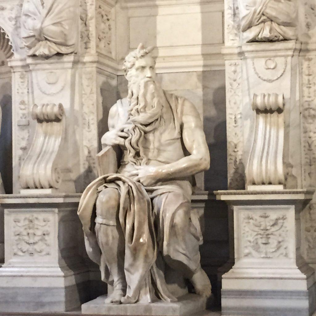 Moses by Michelangelo Basilica di San Pietro in Vincoli Rome