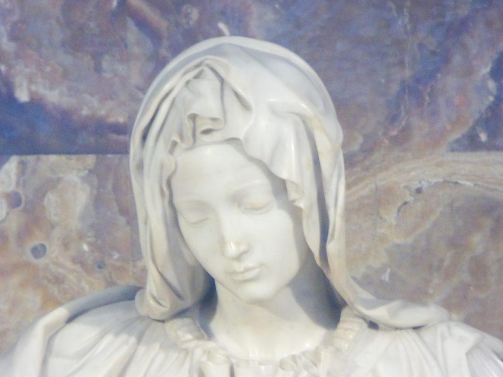 Pieta by Michelangelo in St. Peter's Basilica Vatican City