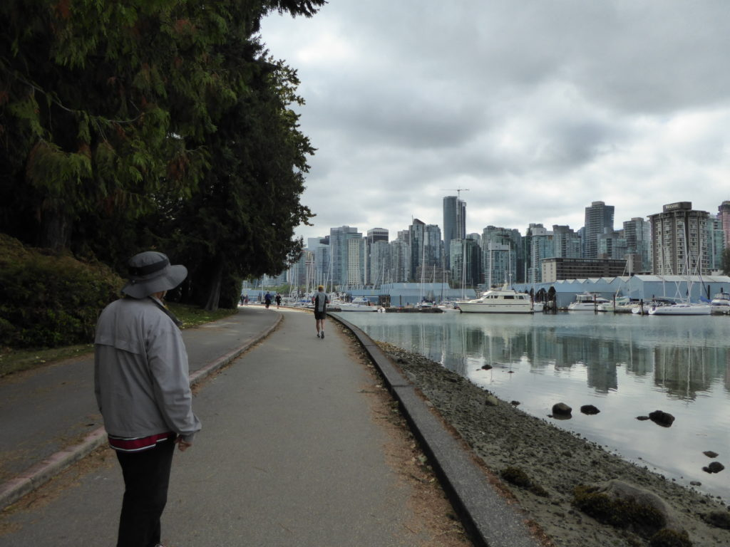 Walking the Vancouver Seawall