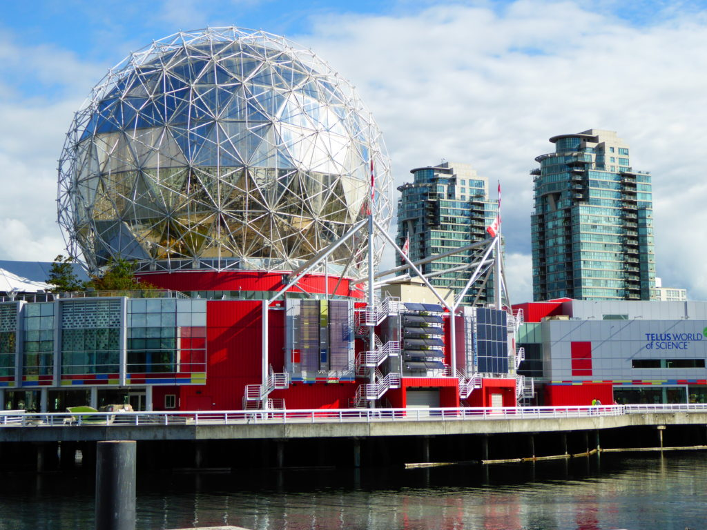 Telus World of Science Vancouver should be on your list of top ten things to do on your first visit to Vancouver!