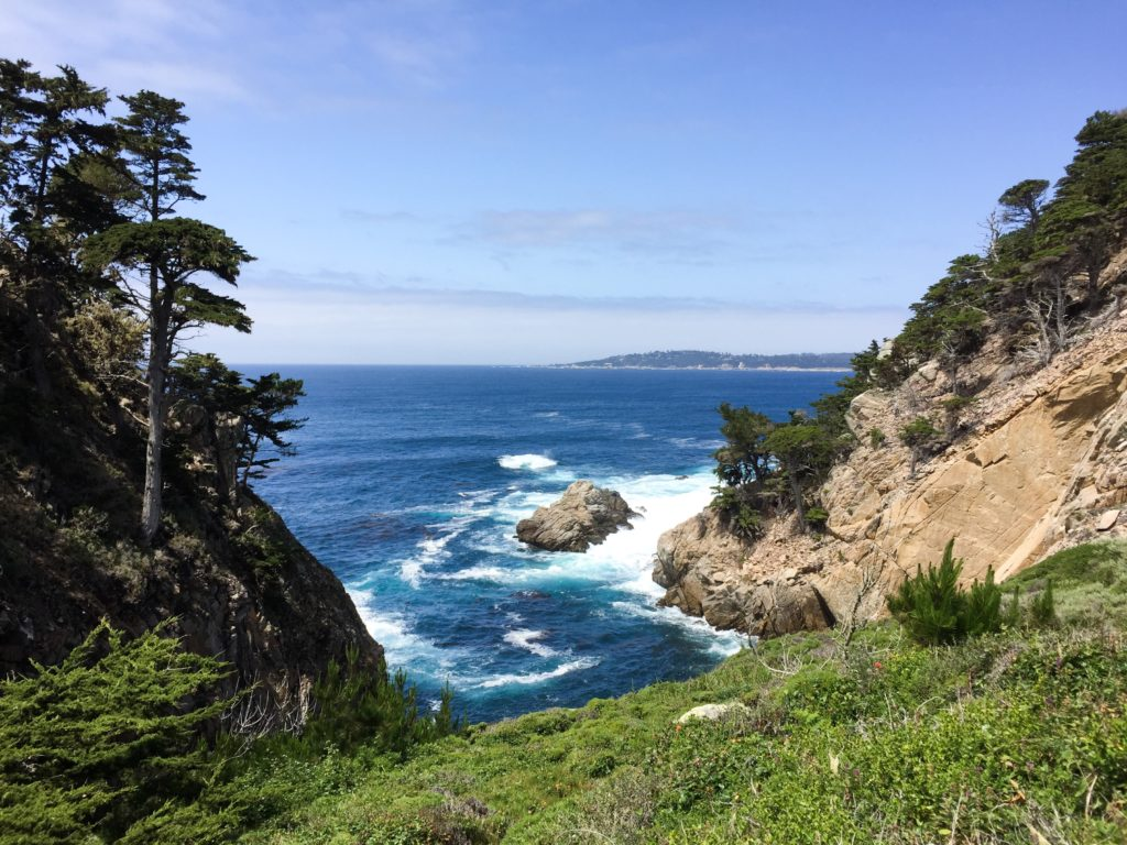 North Shore Trail Point Lobos State Park Carmel