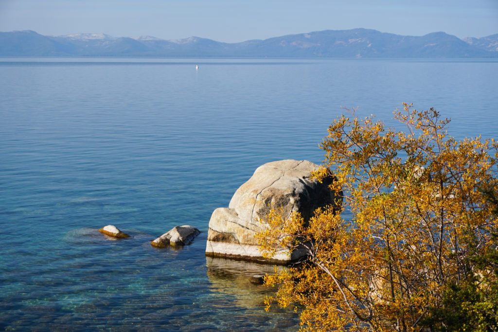 View from the Boardwalk Trail at Sand Harbor State Park, Lake Tahoe
