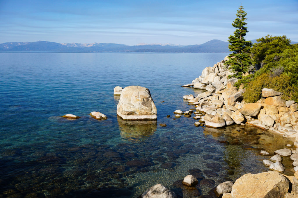 Boulders on the Shore, Sand Harbor State Park, Lake Tahoe