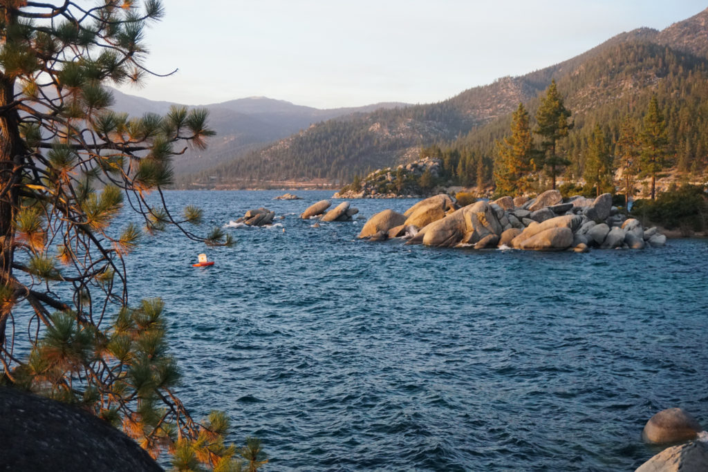 Golden Hour at Sand Harbor State Park, Lake Tahoe