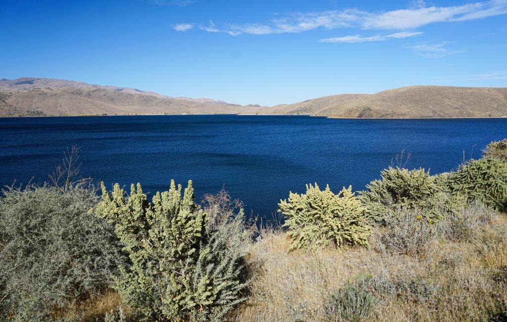 Topaz Lake in the Eastern Sierra