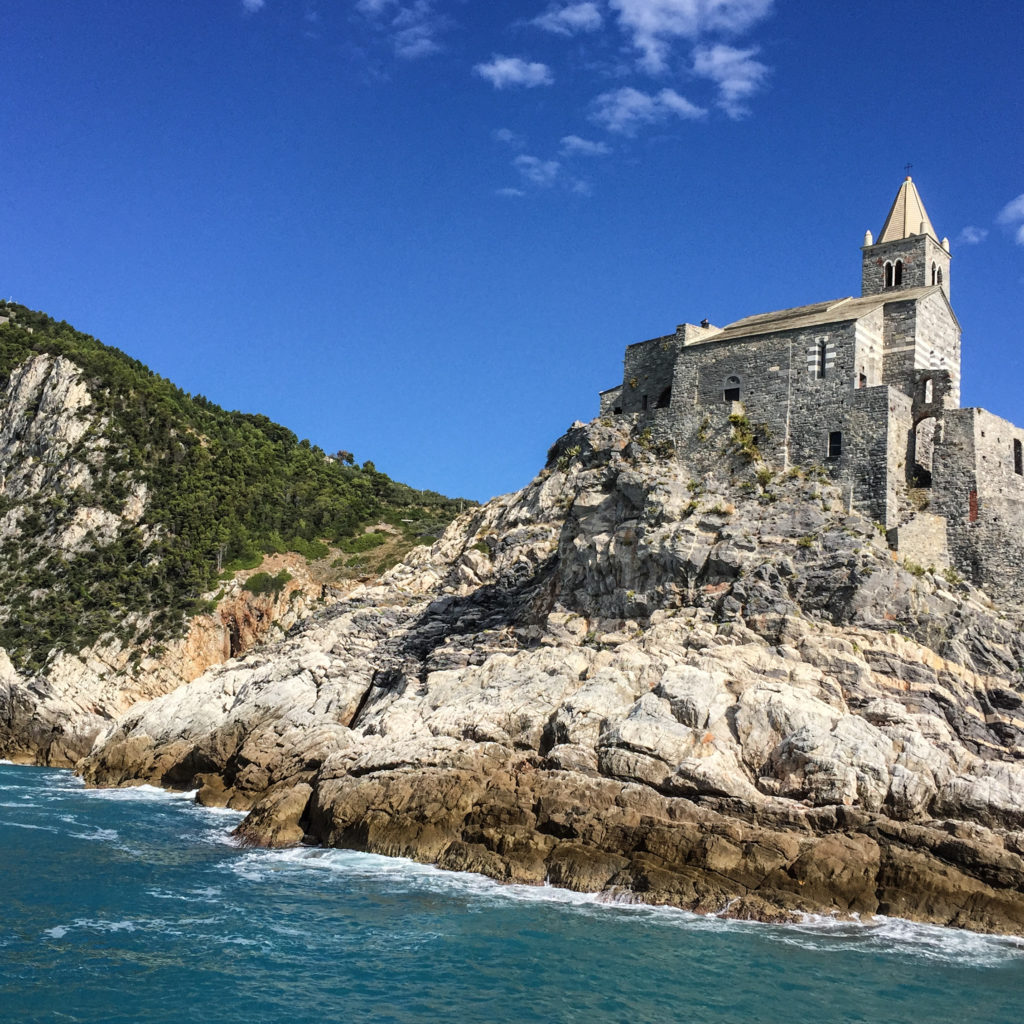 The Chiesa di San Pietro in Portovenere