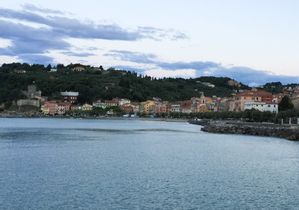 The Bay of Poets in Liguria, Italy