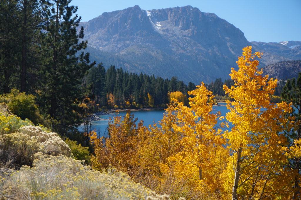 June Lake in the Eastern Sierra