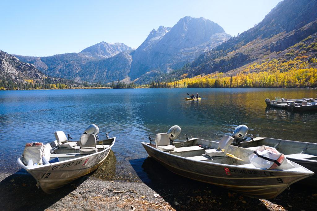 Silver Lake in the Eastern Sierra