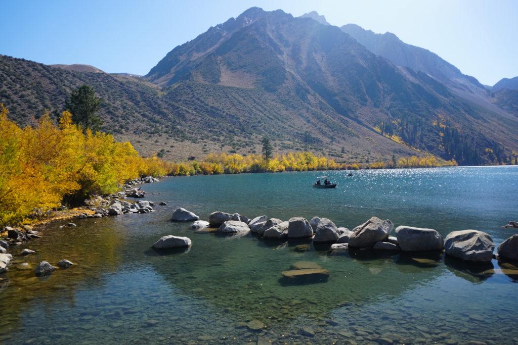 Convict Lake in the Eastern Sierra