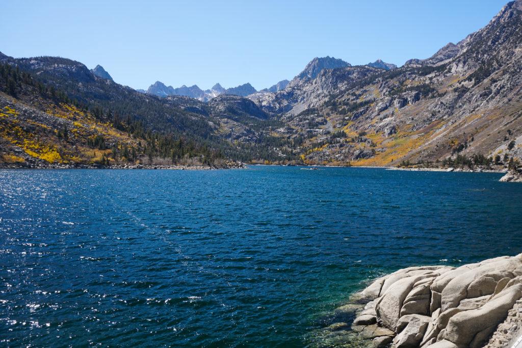 Lake Sabrina in the Eastern Sierra