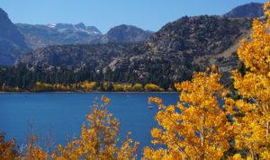 Fall at June Lake in the Eastern Sierra