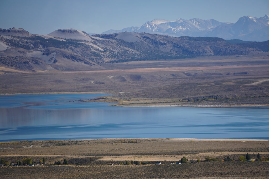 View of Mono Lake from the Lookout at Conway Summit