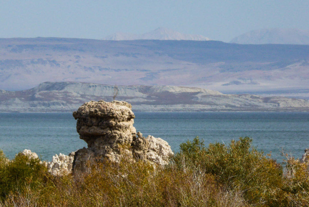 Tufa formations in Mono Lake
