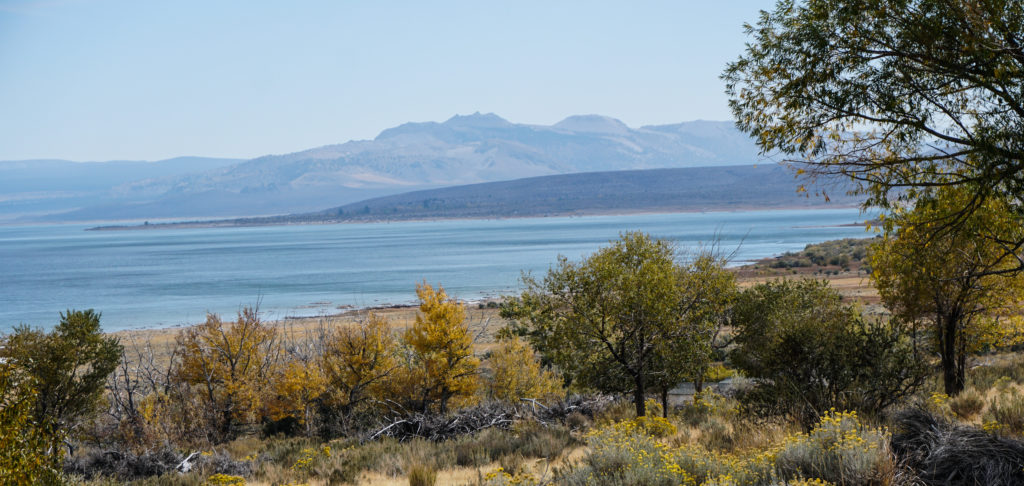 Mono Lake in the Eastern Sierra