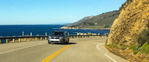 Driving the Pacific Coat Highway along the Big Sur Coast