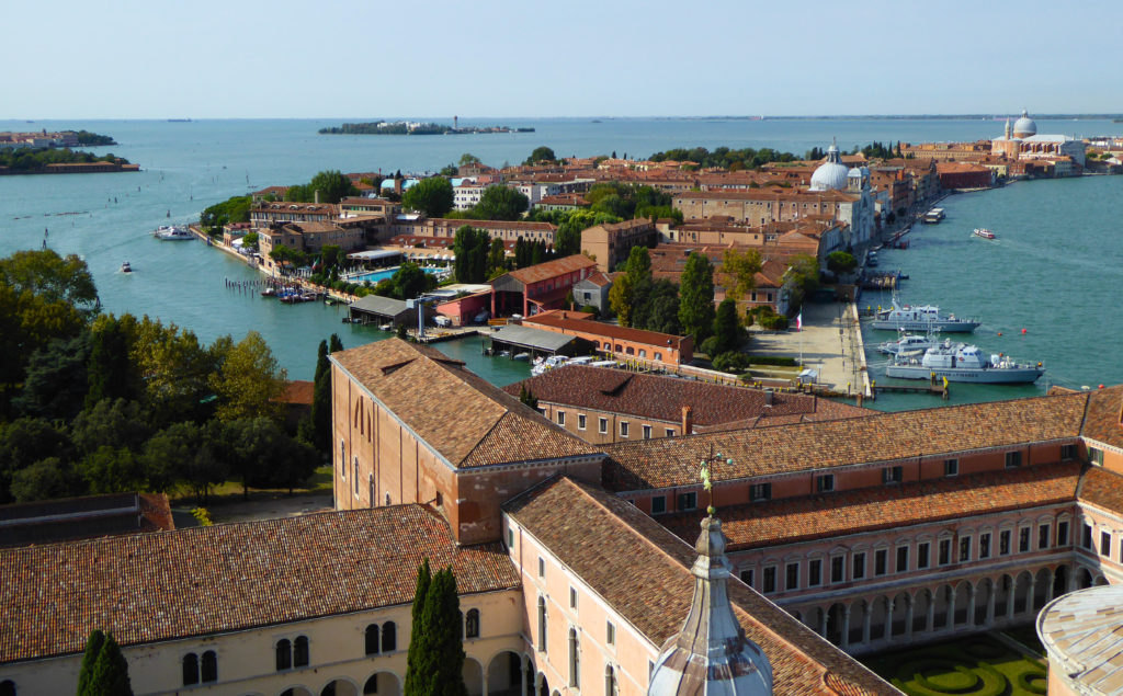 View from the Campanile di San Giorgio Maggiore