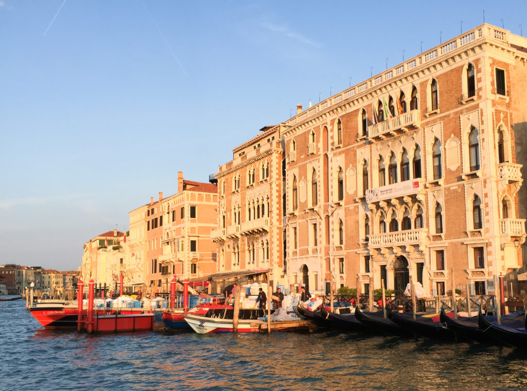 Grand Canal at Sunrise