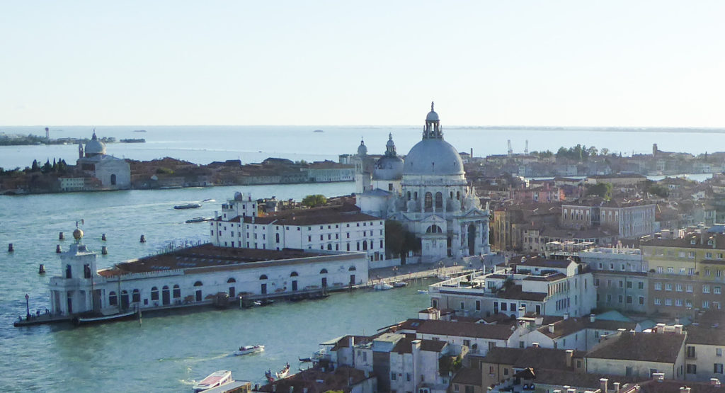 View from the Campanile di San Marco in Venice