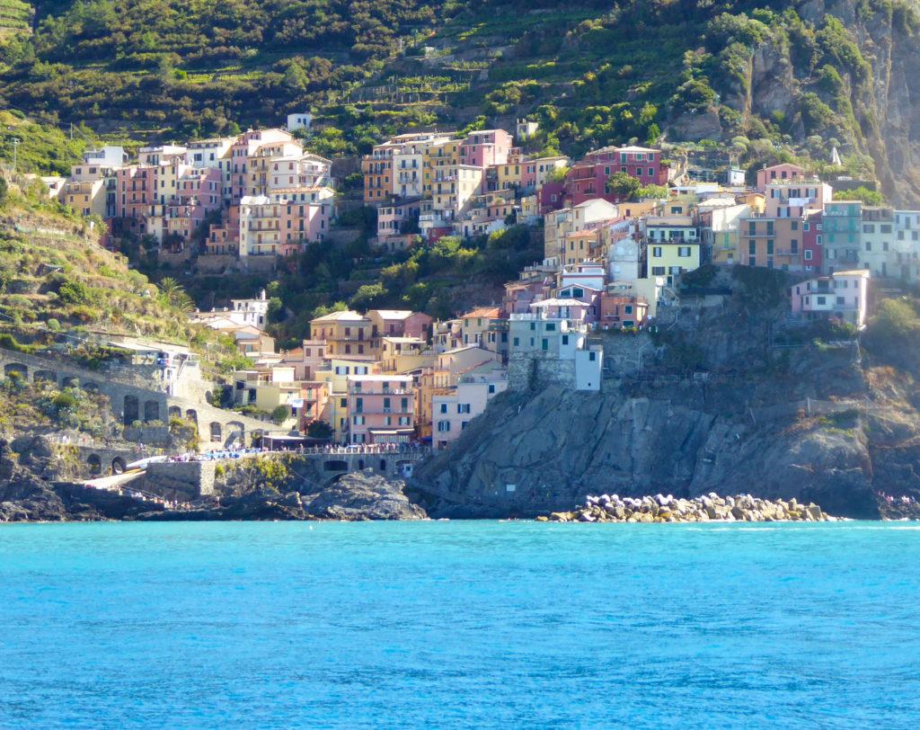 View of Manarola Cinque Terre Italy