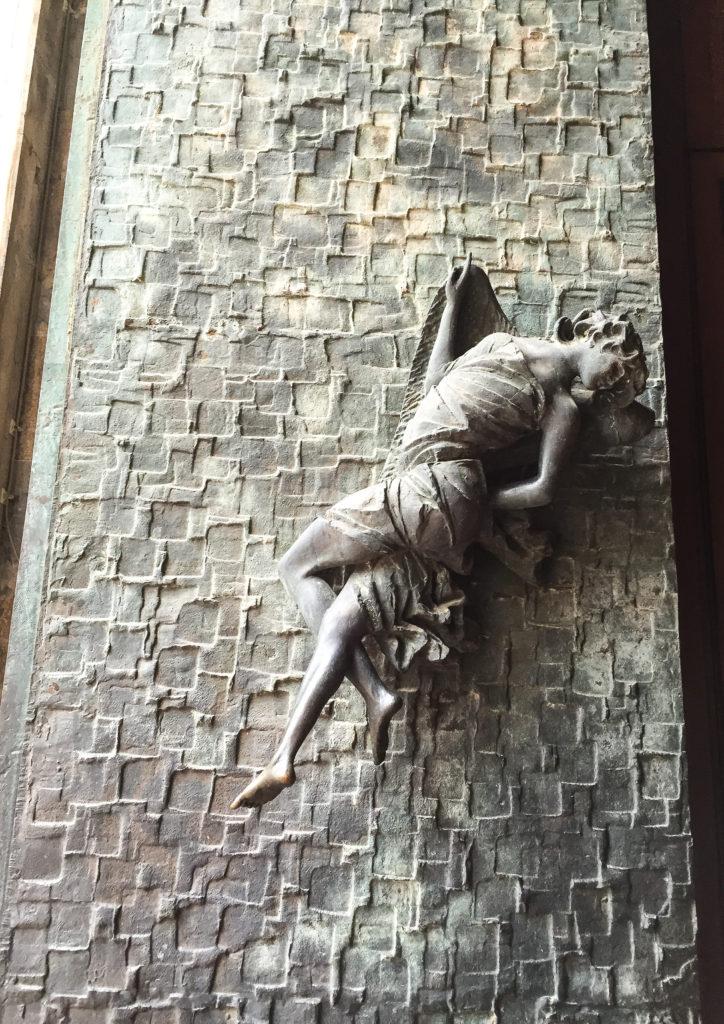 Ornate door pull, Duomo di Orvieto