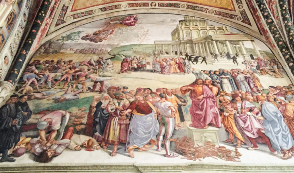 AntiChrist by Luca Signorelli Orvieto Cathedral Italy