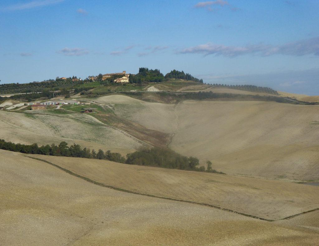 The Crete Senesi of Tuscany Italy