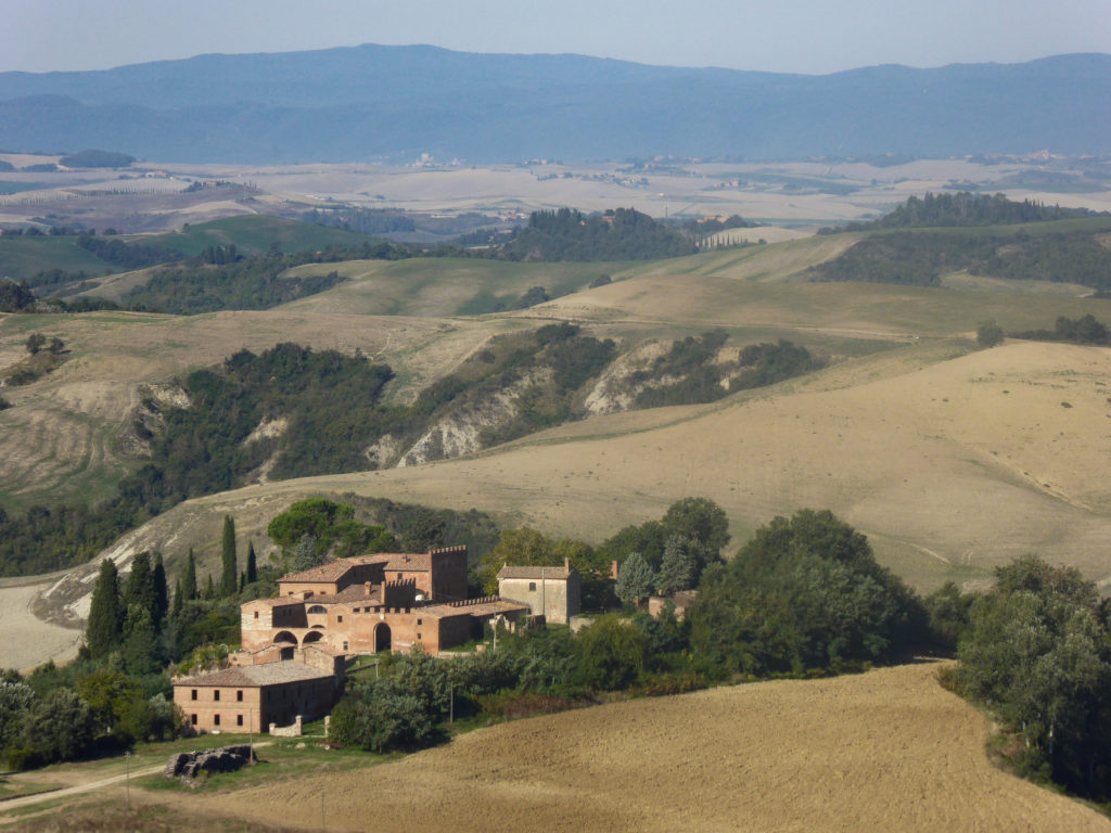 Asciano Tuscany Italy