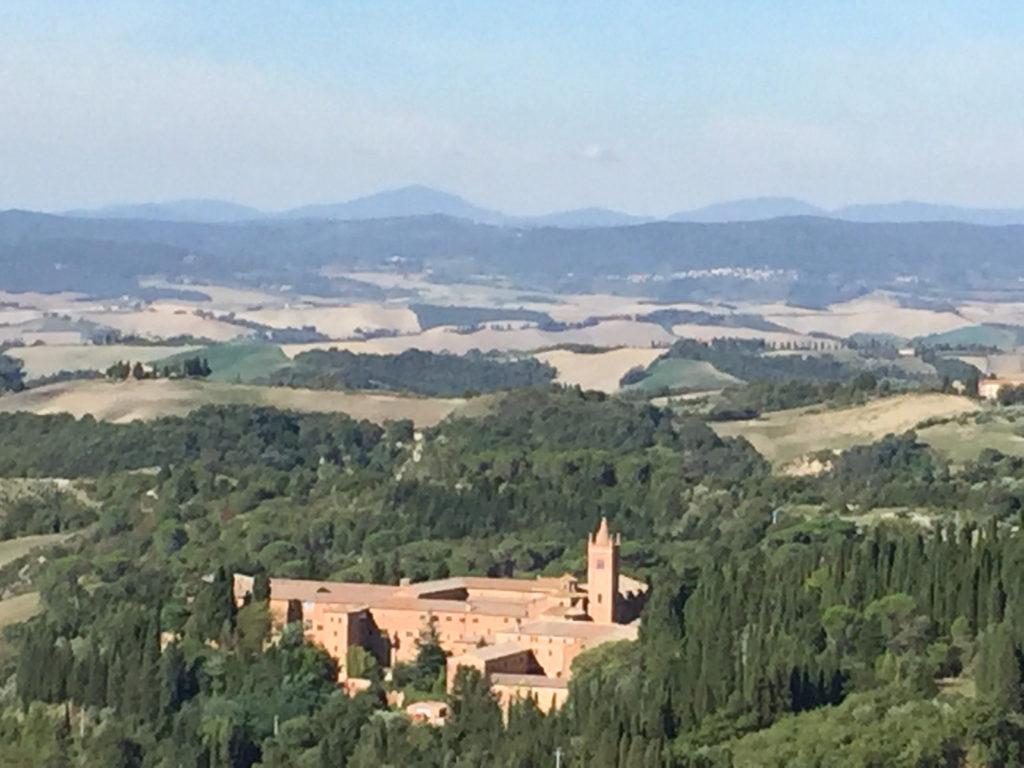 Abbazia di Monte Oliveto Maggiore Tuscany Italy