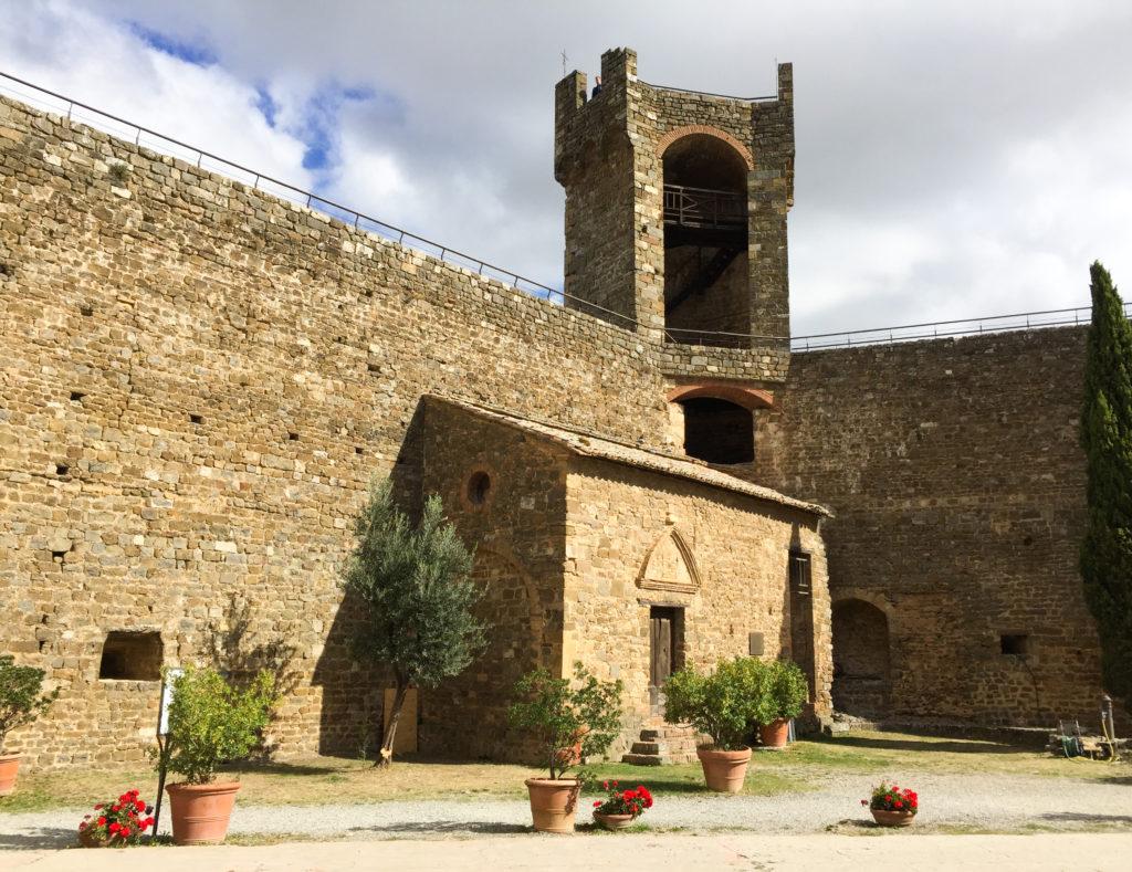 Fortress Montalcino Tuscany Italy