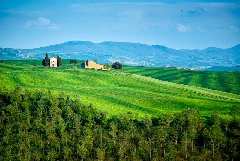 San Quirico d' Orcia Tuscany Italy