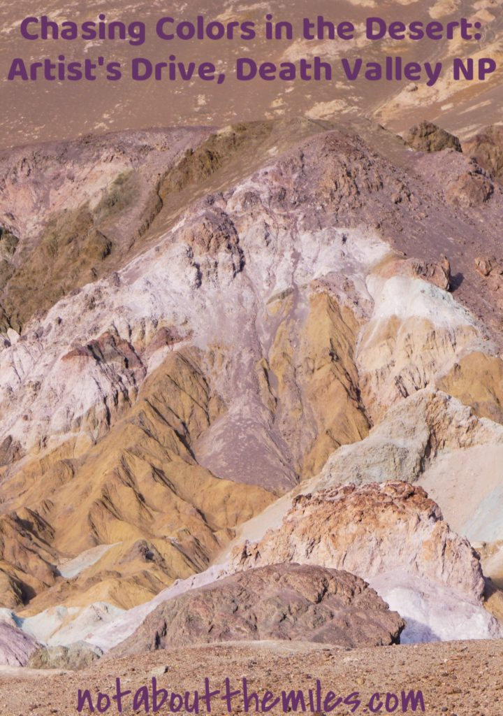 Planning a visit to Death Valley National Park? Place the Artist's Drive on your itinerary! This drive through colorful canyons will take your breath away!