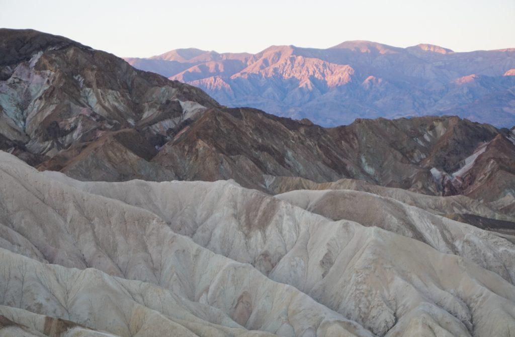 Sunrise at Zabriskie Point Death Valley National Park California