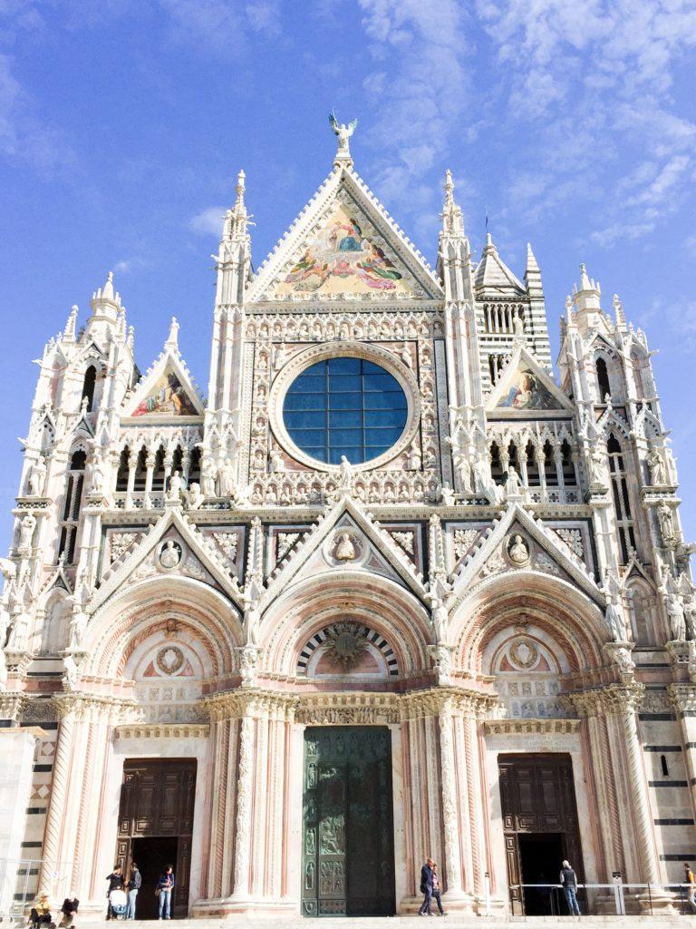The Duomo di Siena in Siena Italy