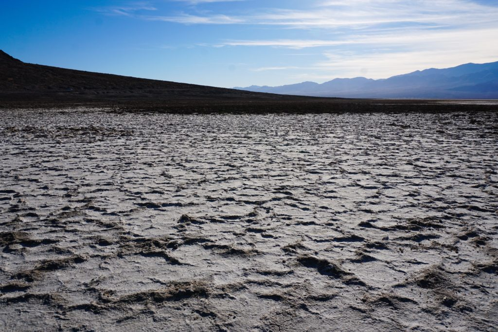 Salt Flats Badwater Basin Death Valley National Park California