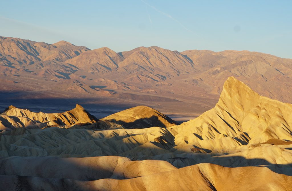 Manly Beacon Zabriskie Point Death Valley National Park California