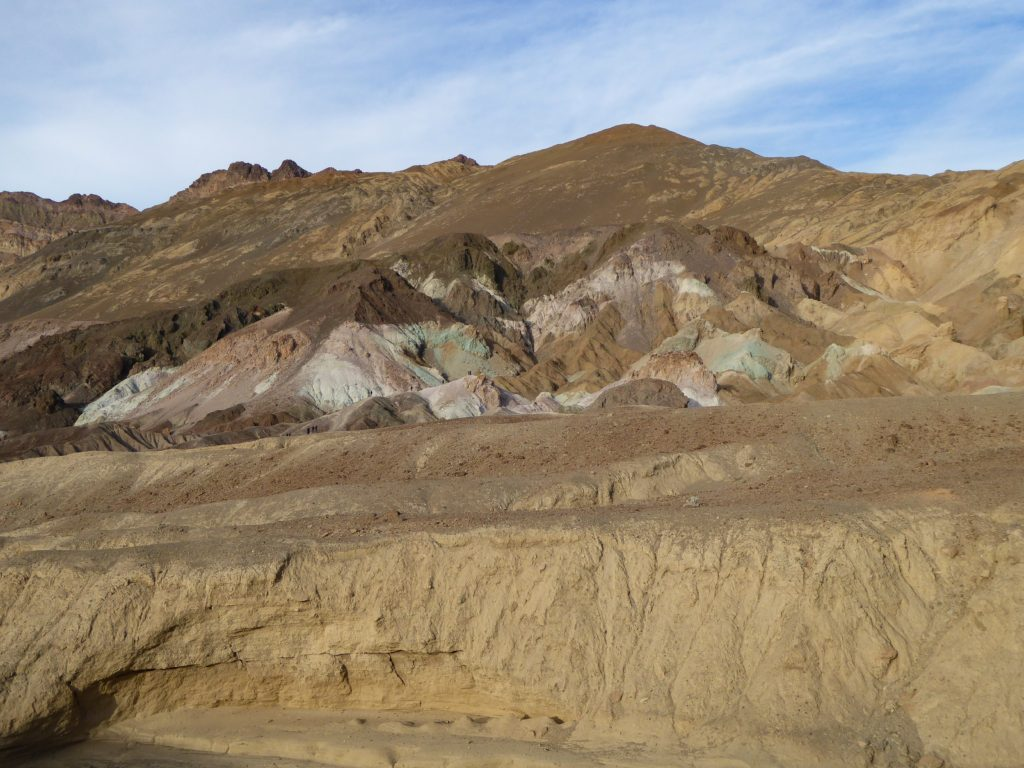 Artist's Palette on Artist's Drive in Death Valley National Park, California