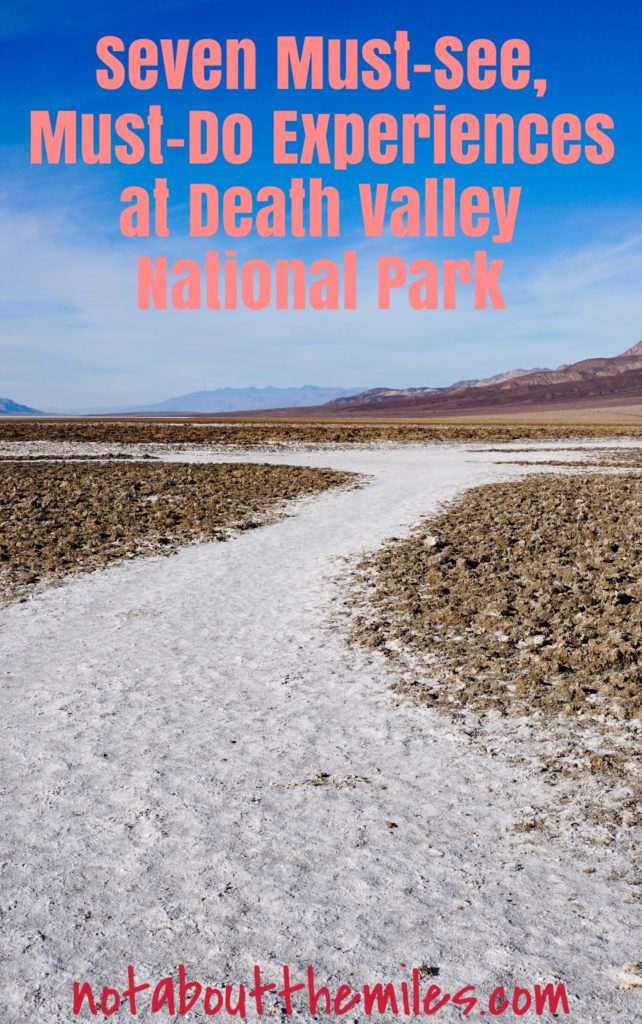 Read my post to discover the 7 best things to do at Death Valley National Park in California, including Zabriskie Point, Dante's View and Mesquite Flat Sand Dunes!