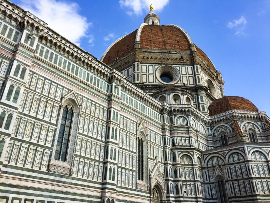 The Duomo di Firenze should definitely be on your list of 10 bdest things to do in Florence!