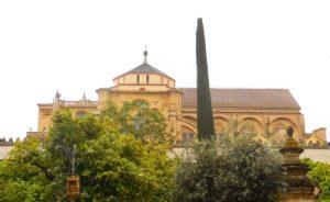 The Mezquita in Cordoba Spain
