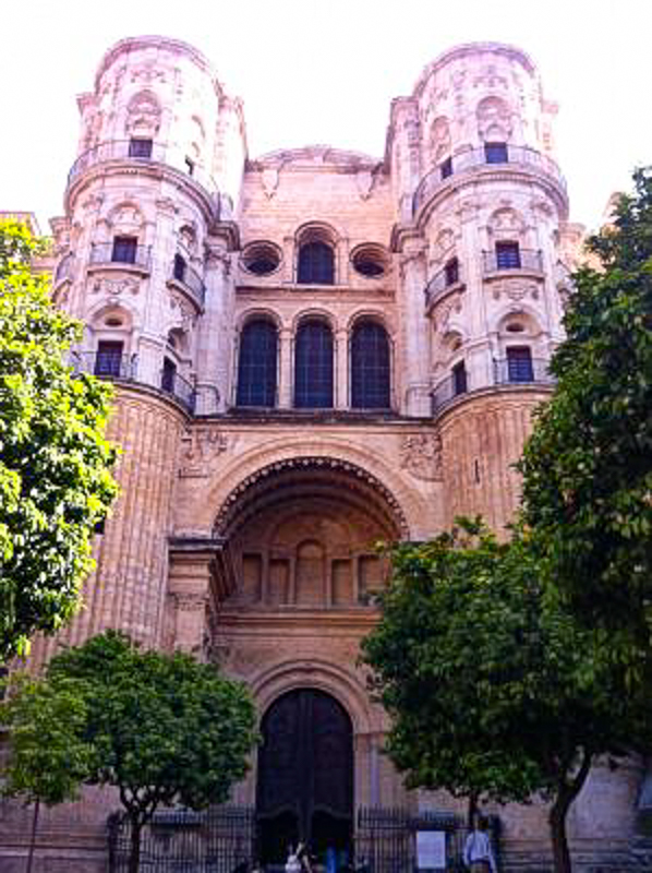 The Cathedral of Malaga in Malaga Spain