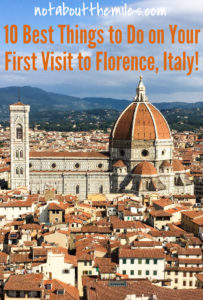The Duomo di Firenze is just one of many wonderful experiences in Florence, the cradle of the Renaissance. From Michelangelo's David to the treasures of the Uffizi Galleries, read about the top ten experiences you must enjoy on your first visit to Florence, Italy!