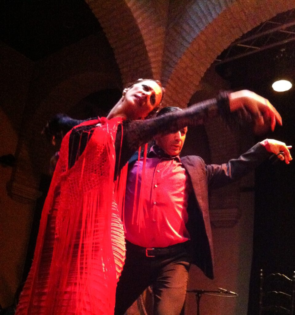 Watching a flamenco show in Seville should be at the top of your list of the best things to do in Seville.
