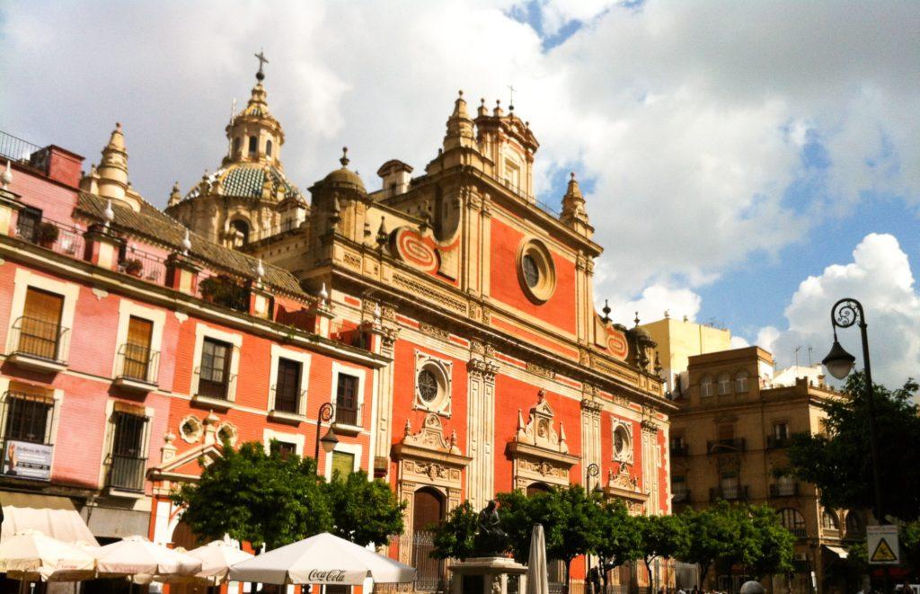 Iglesia Colegial del Salvador Seville Spain