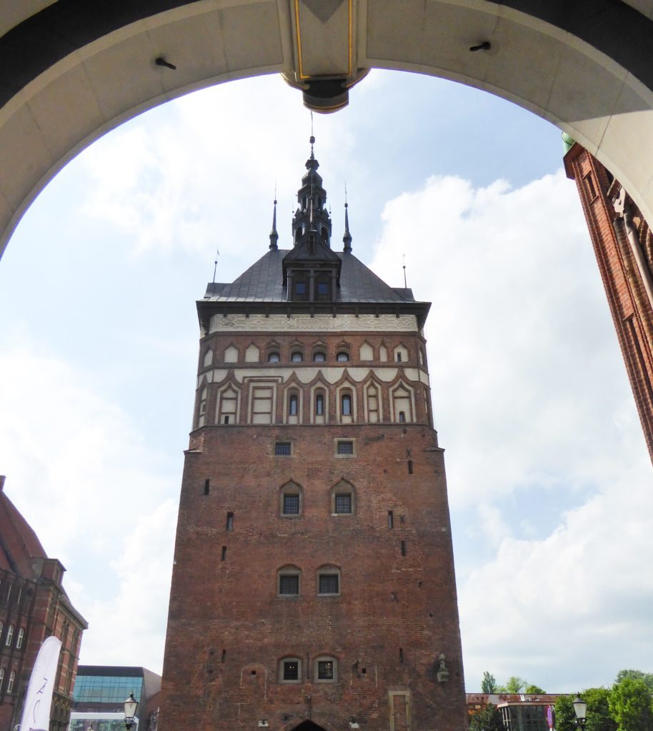 The Prison Tower Old Town Gdansk Poland