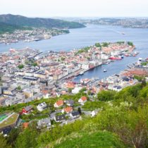Bergen Must-Do: Taking the Fløibanen Funicular to the Top of Mount  Fløyen