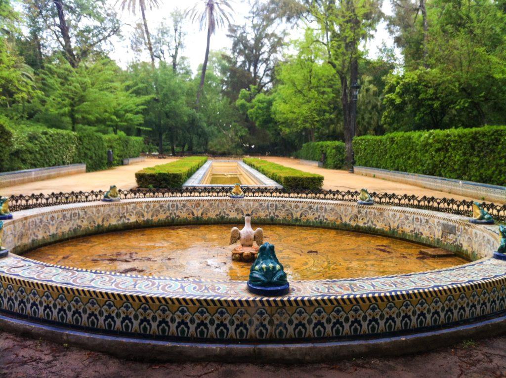 Parque de Maria Luisa Seville Spain
