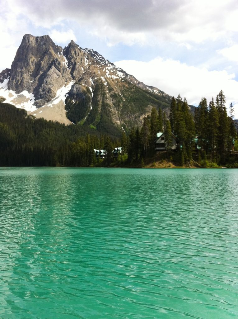 A visit to Emerald Lake is the highlight of a day trip to Yoho National Park